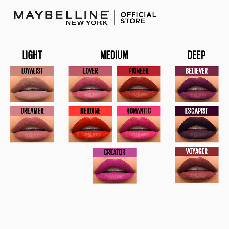 Superstay Matte Ink Lover - THEKULT.COM | Maybelline