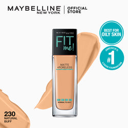 Fit Me Matte + Poreless Liquid Foundation 230 Natural Buff - THEKULT.COM | Maybelline