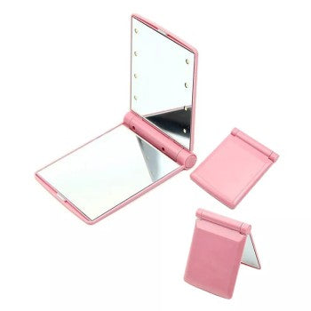 Portable Cosmetic Mirror Pink - THEKULT.COM | THEKULT.COM
