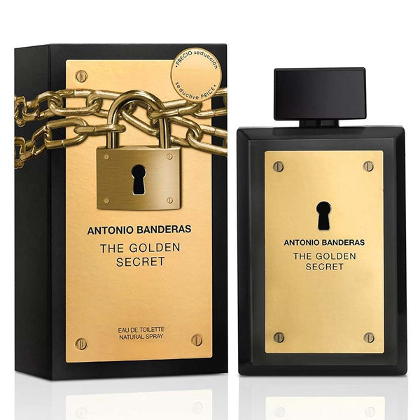The Golden Secret EDT 100ml - Men - THEKULT.COM | Antonio Banderas