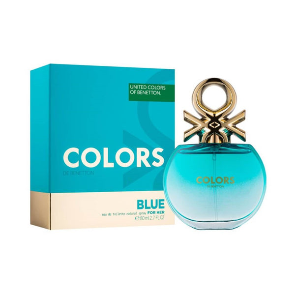 United Colors of Benetton Colors De Benetton Blue Eau De Toilette 80ml | THEKULT.COM