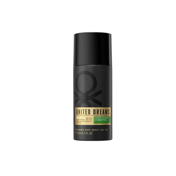 Benetton United Dreams Dream Big Deo Spray for Men 150ml | THEKULT.COM