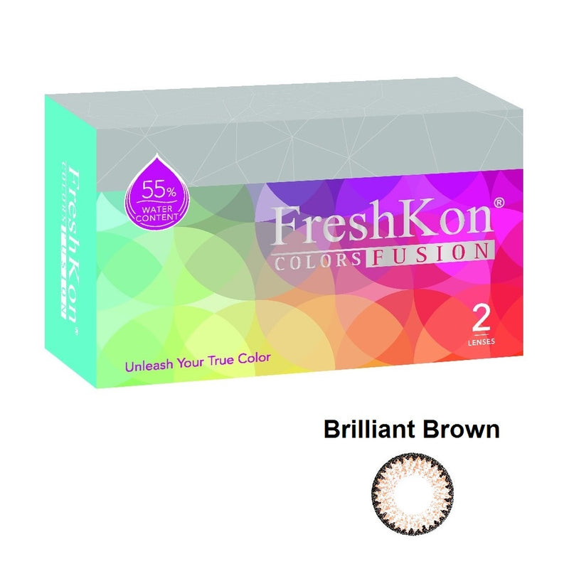 Colors Fusion  Brilliant Brown Grade -200