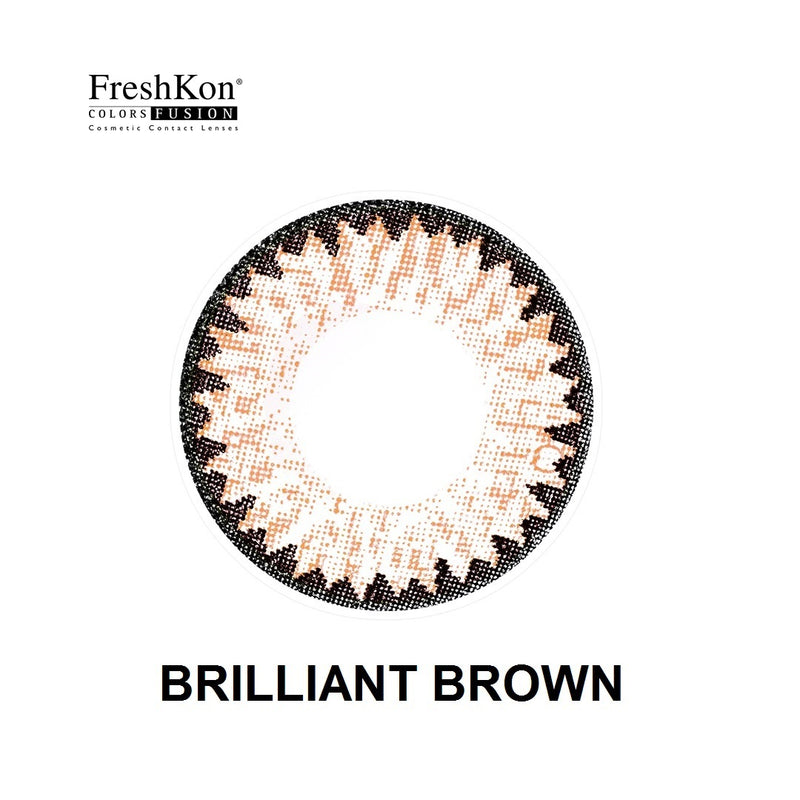 Colors Fusion  Brilliant Brown Grade -400