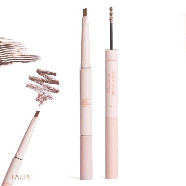 Brow Stick (Pencil + Mascara) in Taupe - THEKULT.COM | BLK Cosmetics