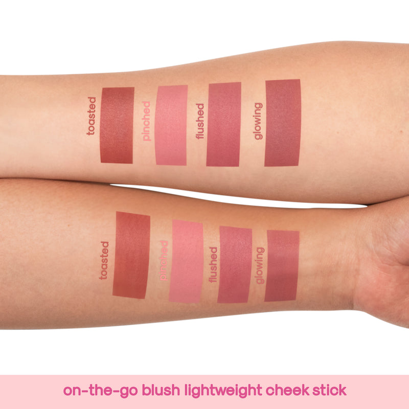 Generation Happy Skin On The Go Blush Lightweight Cheek Stick in Pinched - THEKULT.COM | Happy Skin