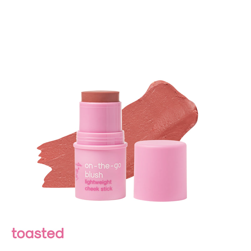 Generation Happy Skin On The Go Blush Lightweight Cheek Stick in Toasted - THEKULT.COM | Happy Skin