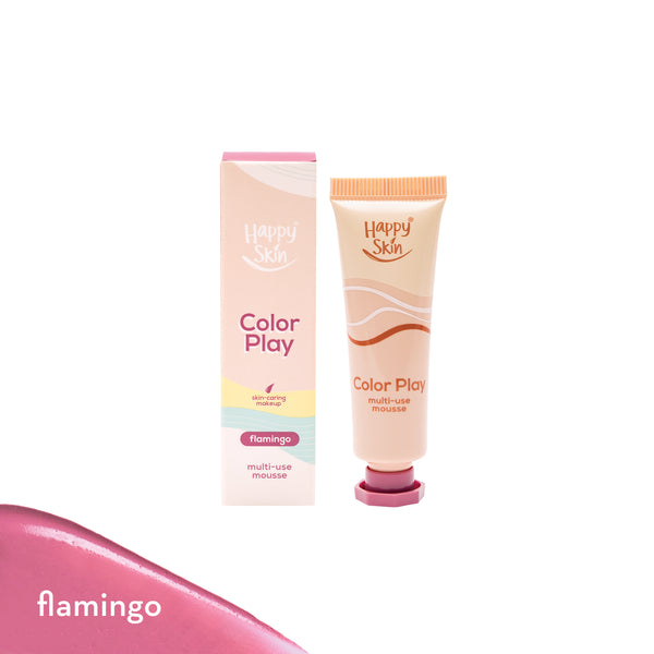 Color Play Multi-use Mousse in Flamingo