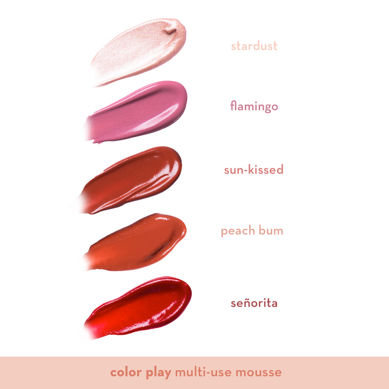 Color Play Multi-use Mousse in Señorita