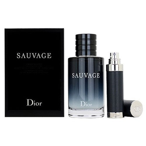 Christian Dior Sauvage EDT 100ml+Refillable EDT 10ml Set | THEKULT.COM