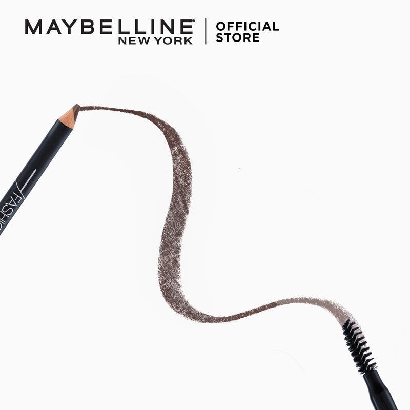 Fashion Brow 2-In-1 Shaping Pencil Dark Brown - THEKULT.COM | Maybelline