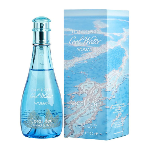 Davidoff Cool Water Woman Coral Reef Eau de Toilette 100ml | THEKULT.COM
