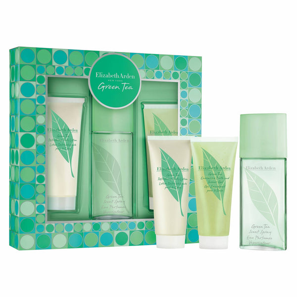 THEKULT.COM. Elizabeth Arden. Green Tea Eau de Toilette 100ml + Body lotion 100ml + Shower Gel