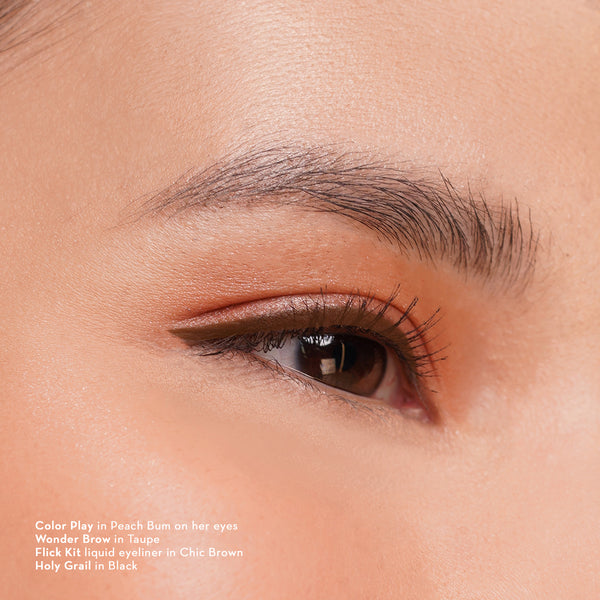 Flick Kit Liquid + Gel Eyeliner in Chic Brown