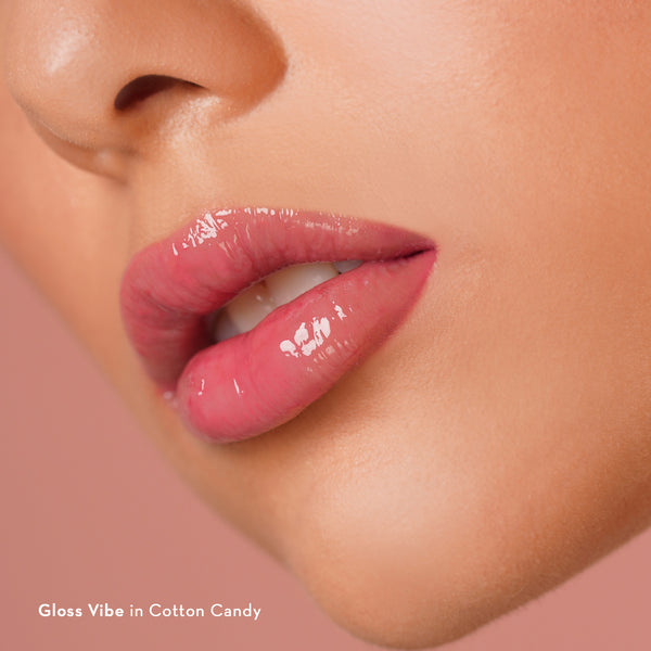 Gloss Vibe Cooling Lip Gloss in Cotton Candy