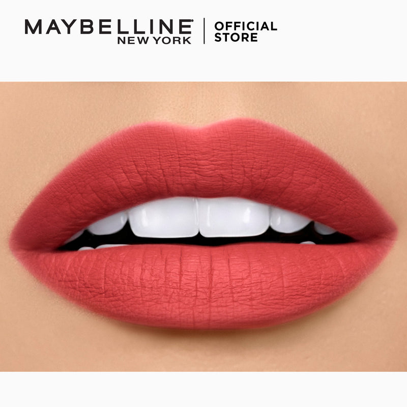 Color Sensational Powder Matte Get-Red-Dy - THEKULT.COM | Maybelline