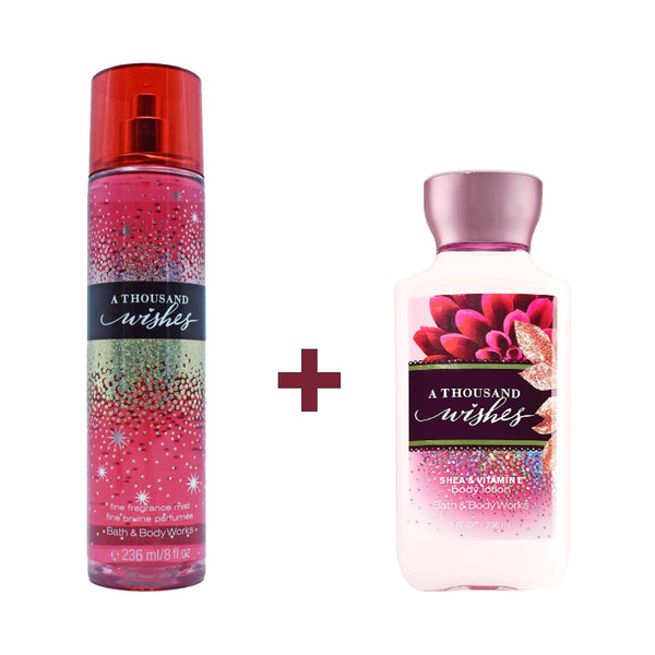 THEKULT.COM. Bath & Body Works. A Thousand Wishes Set