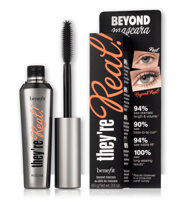 THEKULT.COM. Benefit Cosmetics. They're Real Beyond Mascara Jet Black 8.5g