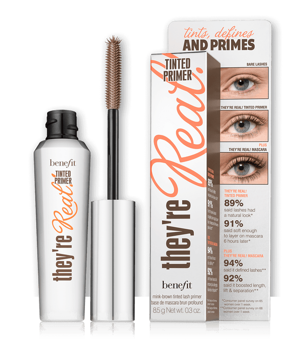 THEKULT.COM. Benefit Cosmetics. They're Real Tinted Lash Primer Mink Brown 8.5g