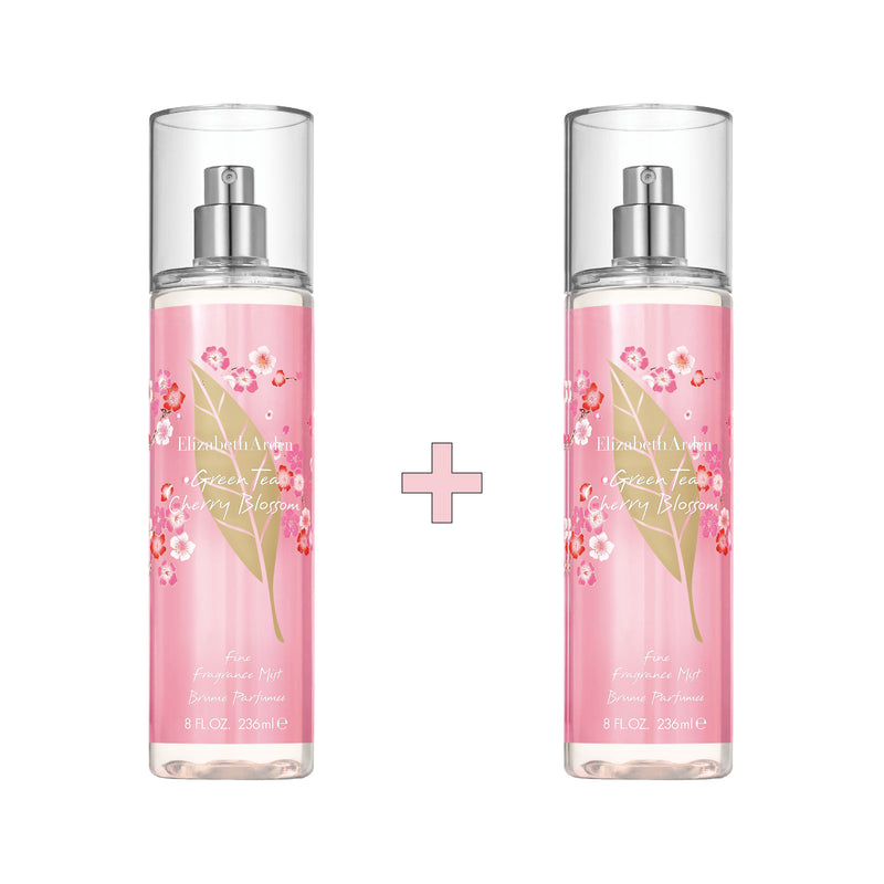 Green Tea Cherry Blossom Fragrance Mist Set