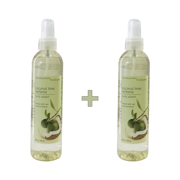 Coconut Lime Verbena Body Splash Set