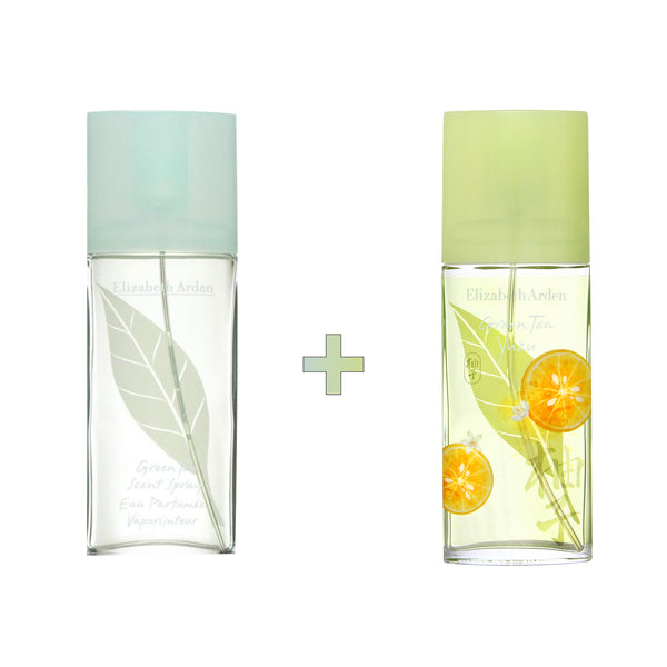 Green Tea x Yuzu EDT Spray Bundle