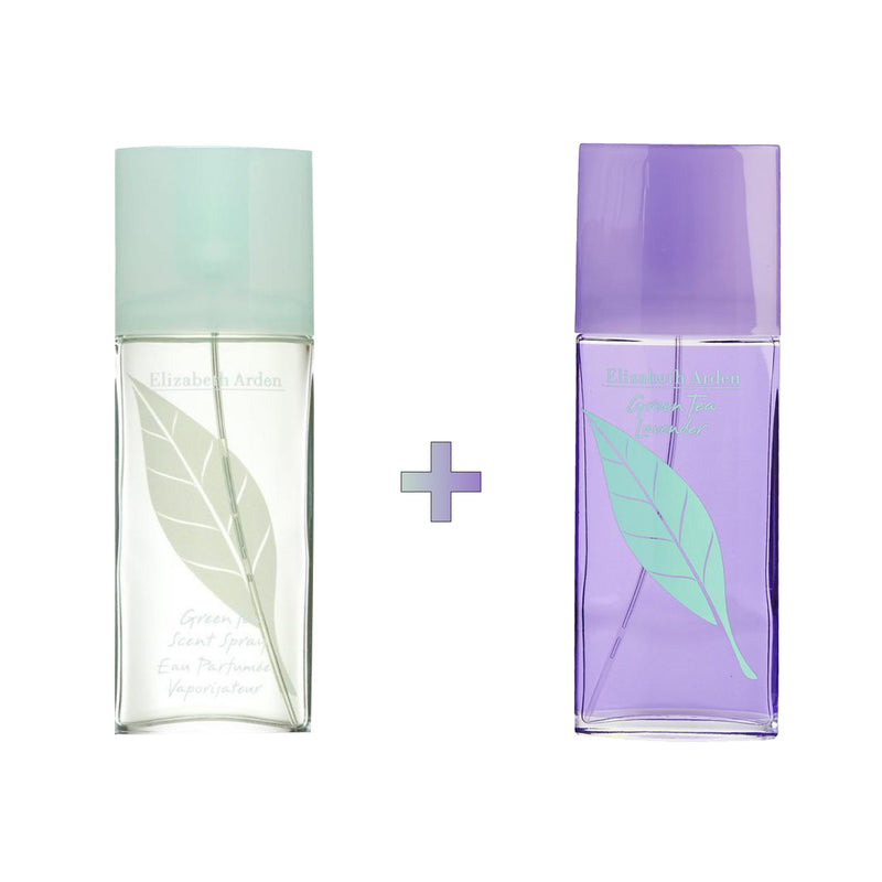 Green Tea x Lavender EDT Spray Bundle