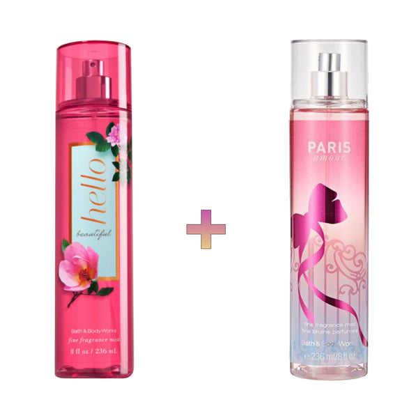 Hello Beautiful x Paris Amour Body Mist Bundle