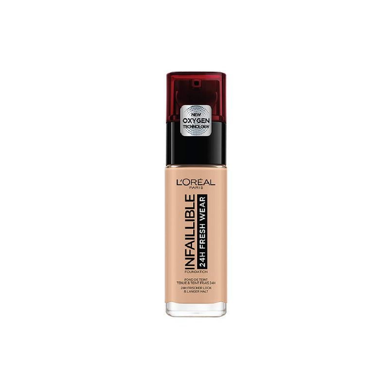 L'Oreal Infaillible24H Fresh Wear Foundation SPF18 #145 Beige Rose 30ML