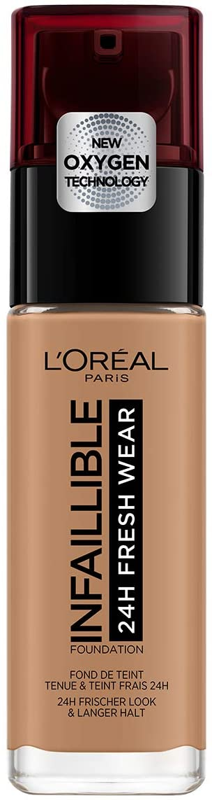 L'Oreal Infaillible24H Fresh Wear Foundation SPF18 #320 Caramel Toffee 30ML