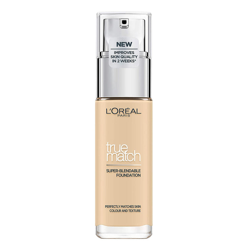 L'Oreal True Match Foundation SPF17 #1D/1W Golden Ivory 30ML