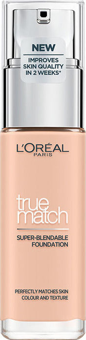 L'Oreal True Match Foundation SPF17 #1R-1C Rose Ivory 30ML