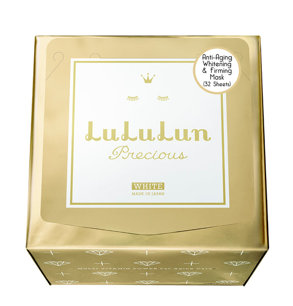 Anti Aging Whitening and Firming Mask (32 sheets) - THEKULT.COM | Lululun