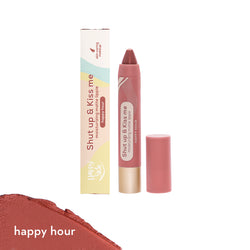 Shut up & Kiss me Moisturizing Matte Lippie in Happy Hour - THEKULT.COM | Happy Skin
