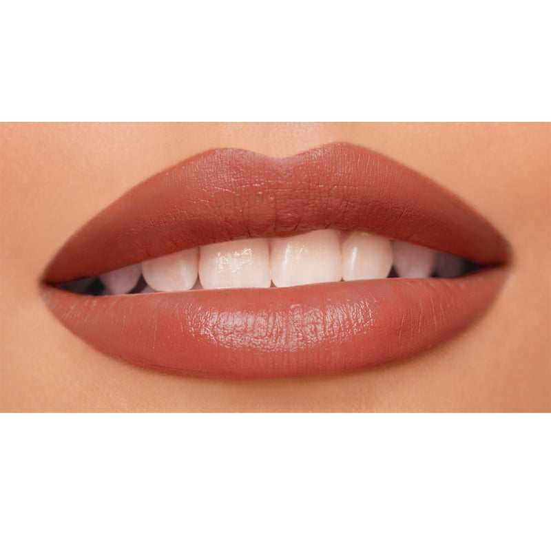 Shut up & Kiss me Moisturizing Matte Lippie in Happy Hour