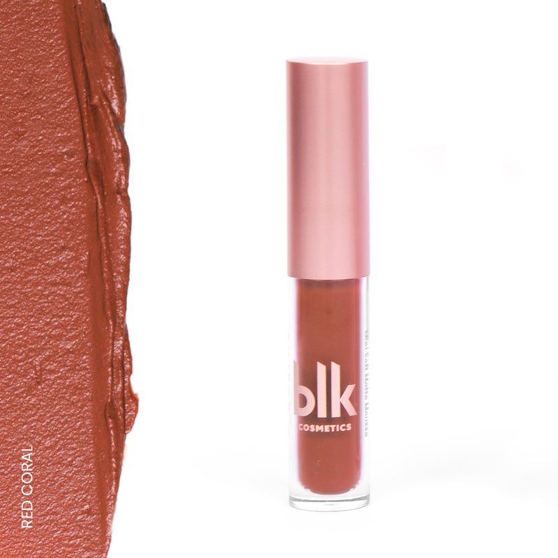 Holiday Mini Soft Matte Mousse Red Coral