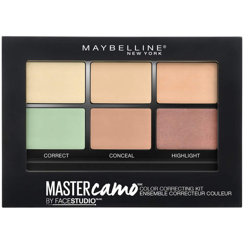Maybelline Master Colour Correcting Concealer Kit 01 Claire 6G