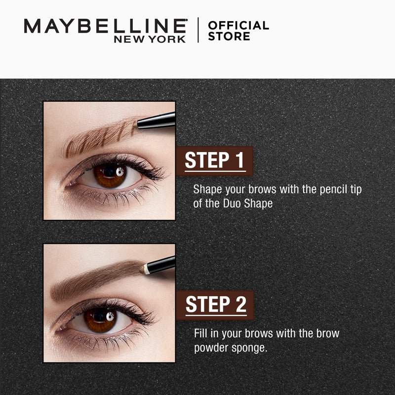Fashion Brow Duo Pen Br-2 Natural Brown - THEKULT.COM | Maybelline