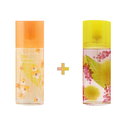 Green Tea Nectarine Blossom x Mimosa EDT Spray Bundle