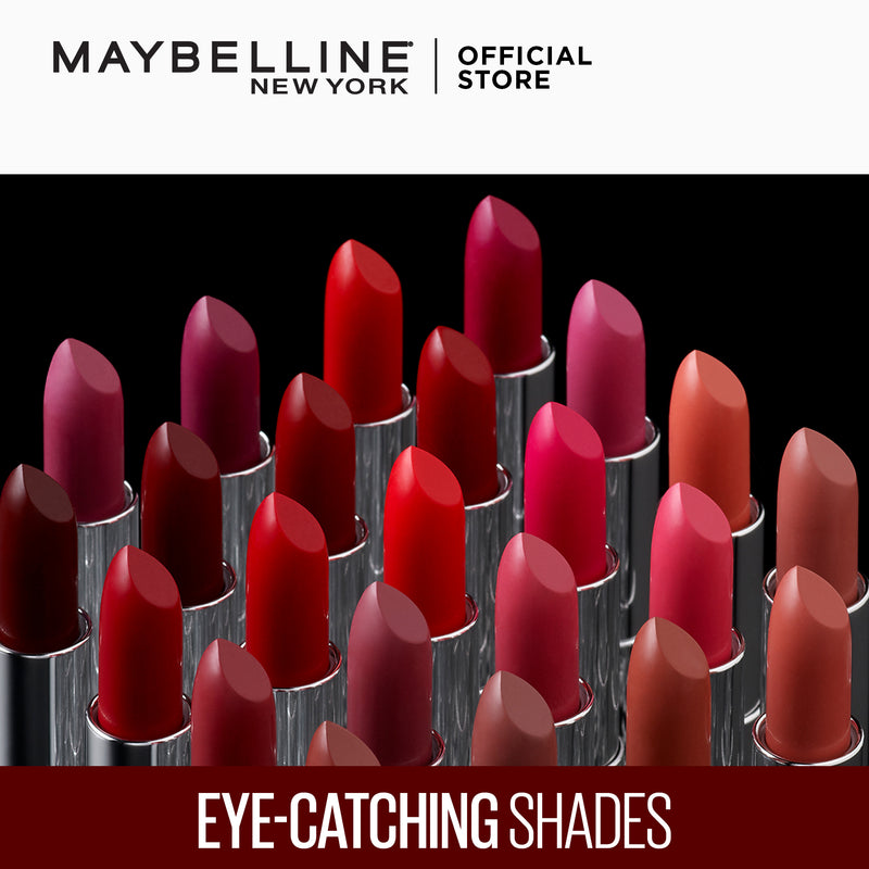 Color Sensational Creamy Mattes Rich Ruby - THEKULT.COM | Maybelline
