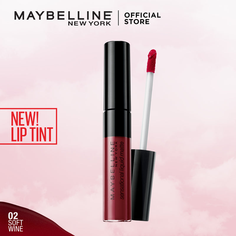 Color Sensational Liquid Lip Soft Wine - THEKULT.COM | Maybelline