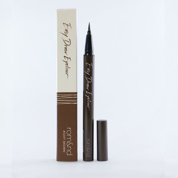 Easy Draw Eyeliner Soft Brown - THEKULT.COM | Rom&nd
