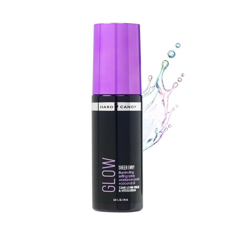 THEKULT.COM. Hard Candy. Sheer Envy Setting Spray Luminous Purple 64ml