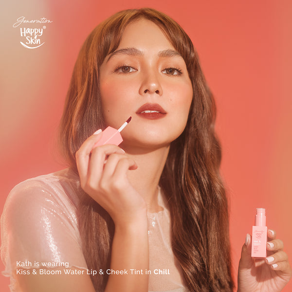 Generation Happy Skin Kiss & Bloom Water Lip & Cheek Tint in Chill - THEKULT.COM | Happy Skin