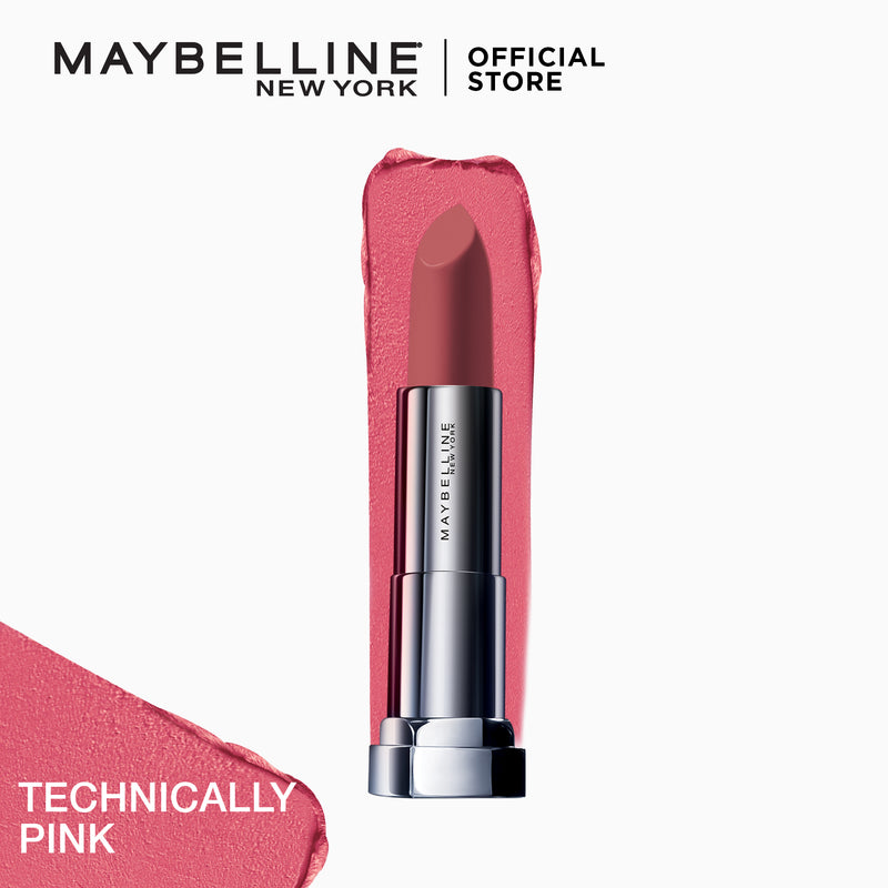 Color Sensational Powder Matte Technically Pink - THEKULT.COM | Maybelline