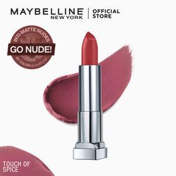 Color Sensational Creamy Mattes Touch Of Spice - THEKULT.COM | Maybelline