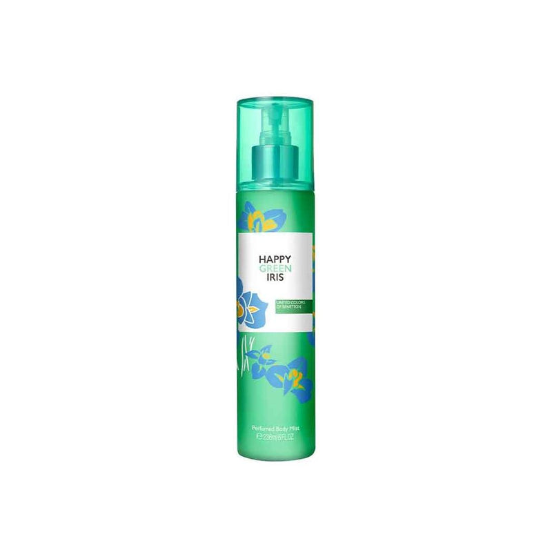 United Colors Of Benetton Happy Green Iris Perfumed Body Mist 236ml | THEKULT.COM