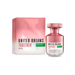 United Colors of  Benetton United Dreams Together For Her EDT 80ml | THEKULT.COM
