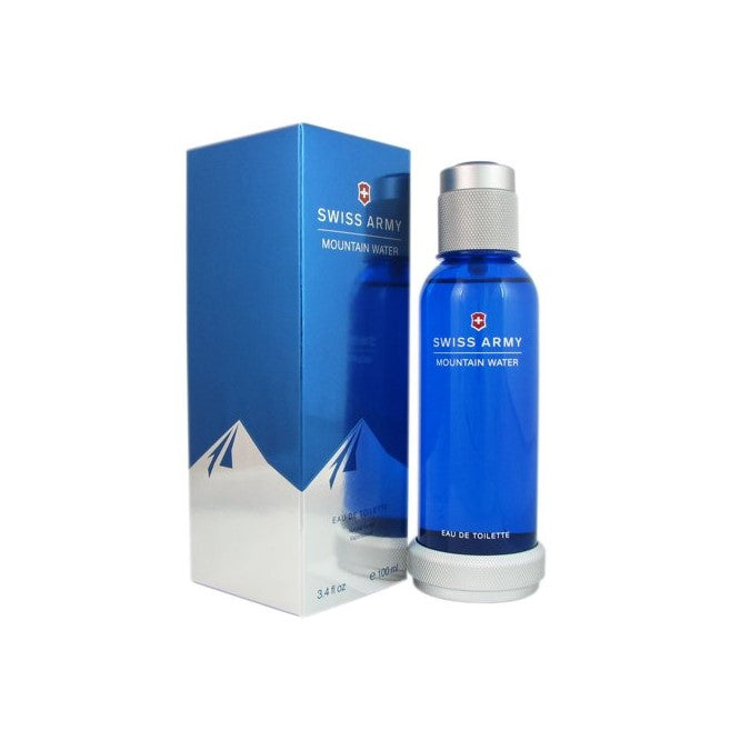 Victorinox Swiss Army Mountain Water Eau De Toilette for Men 100ml | THEKULT.COM