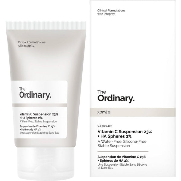 Vitamin C Suspension 23% + HA Spheres 2% - THEKULT.COM | The Ordinary